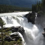 Athabasca Falls in Jasper National Park. (CC BY-SA 3.0)