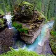 Johnston Canyon, Banff NP Alberta Canada (CC BY 2.0)