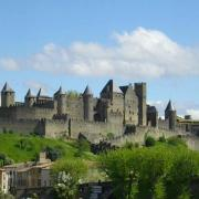 Panorama of the Cité de Carcassonne	(GFDL)