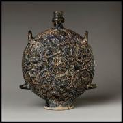 Flask with Zodiac medallions (www.metmuseum.org)