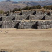 The walls of Saksaywaman, Cusco, Peru.
