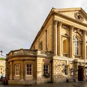 Grand Pump, Roman Baths, Bath, England This is a photo of listed building number 1394019.(CC BY-SA 4.0)