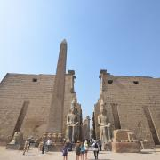 Entrance to Luxor Temple(CC BY-SA 3.0)