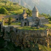 The Tatev Monastery complex and its fortifications. (CC BY-SA 3.0)