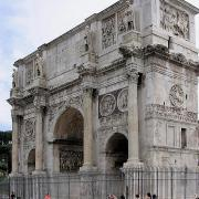 Arch of Constantine. (Public Domain)