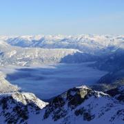 Canadian Coast Range — near Whistler, British Columbia. (CC BY-SA 3.0)