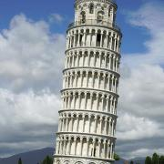 The Leaning Tower of Pisa. (CC BY-SA 3.0)
