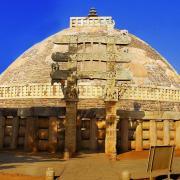 The Great Sanchi Stupa (CC BY-SA 2.0)