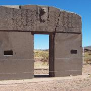 The Gateway of the Sun from the Tiwanku civilization in Bolivia. (Public Domain)