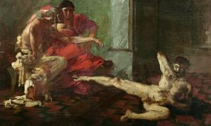 Locustra testing Poison by Joseph-Noël Sylvestre