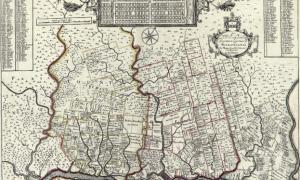"1729 map of New England, New York, New Jersey, and Pennsylvania. Known among cartographic historic as the ""Post Map"", this is Herman Moll's important 1729 map of New England and the adjacent colonies."