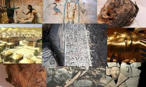 Top Ten Ancient Egyptian archaeological  Discoveries of 2014