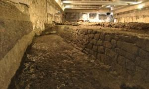 Enormous 2,300-year-old Roman water basin unearthed in the heart of Rome