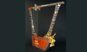 The reconstructed Bull's Lyre.