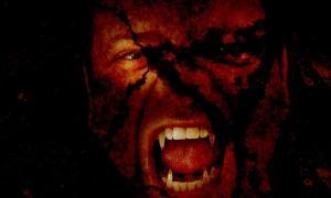 A vampire, often likened to the Romanian 'strigoi'.
