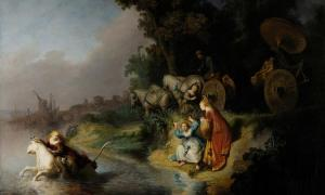 The Abduction of Europa by Rembrandt, 1632 (Wikimedia Commons)