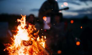 Christian group burns 'satanic objects' in bonfire. Credit: Andris / Adobe Stock