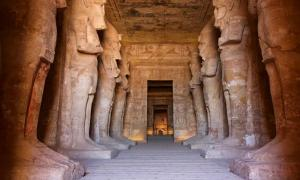 Great Pillared Hall, Temple of Ramesses II, Abu Simbel