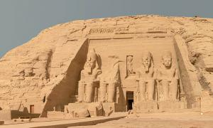 Great temple moved in the 1960s Abu Simbel temple rescue operation.