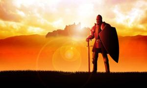 Medieval knight. Credit: rudall30 / Adobe Stock