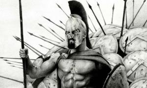 King Leonidas by David Baldo