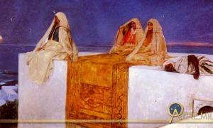 Arabian Nights by Jean-Joseph Benjamin Constant (1845 – 1902) (Public Domain)
