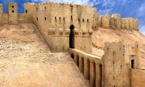 Entrance to the Aleppo Citadel   Source: Shariff Che'Lah / Adobe Stock