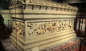The 'Alexander' sarcophagus from Sidon