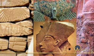 Collage of Egyptian art, design by Anand Balaji.