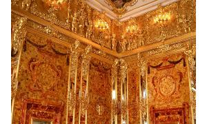 Amber Room of Charlottenburg Palace - Russia