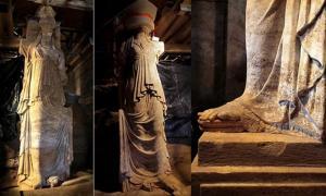 Amphipolis caryatids