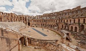 The Amphitheatre of El Djem