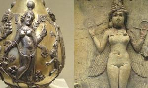Anahita and Ishtar: Connections to the Planet Venus
