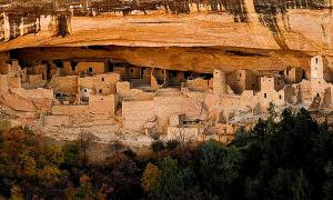 Anasazi Indian ruins - Mesa Verde,Colorado,USA