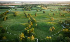 Ancient Cahokia Mounds