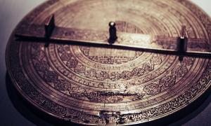 Example of an ancient calendar. The ancient Egyptians created a calendar with 365 days in a year.