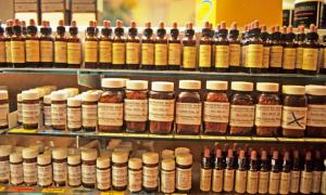 Wisconsin Community Pharmacy supply of natural remedies