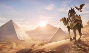A scene from the new Assassin's Creed, called 'Origins'. Credit: Ubisoft