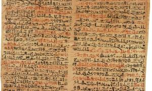 Ancient Egyptian Papyrus Reveals Odd Cure for Ingrown Eyelashes – Bull Fat, Bat and Donkey Blood