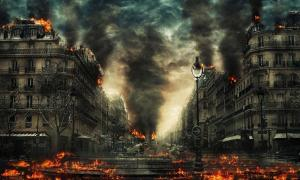 'End of the World' artistic representation.