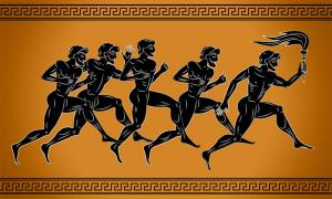 Ancient Greek Olympics were a fundamental aspect of ancient Greek culture. Various types of running took place during the games, along with equestrian sports and combat sports. Source: sebos / Adobe Stock