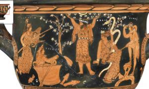 Ancient Greek Vase Celebrates the Exaltation of Our Ancestors as Gods