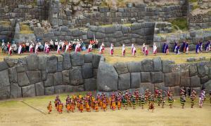 Inti Raymi solstice festival, Cusco, Peru
