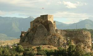 Georgian (Colchis) fortress of Surami, built in the 2nd-3rd centuries, heavily fortified in the 12th century