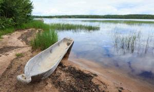 Representative example of an ancient log boat.        Source: Juhku / Adobe Stock