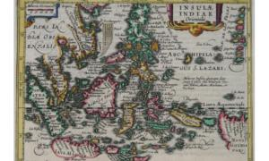 Old Map of the Philippines in year 1628 showing the Reed Bank (an area just East of the Spratly islands) as part of the Philippines.