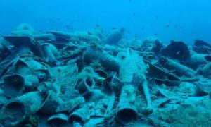 Findings at the shipwreck of Fournoi, Delos