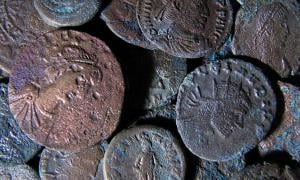 Ancient Roman coins (representational image only)