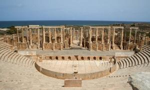 Libyan Civilians Take Up Arms and Form Protective Shield Around Ancient Ruins of Leptis Magna