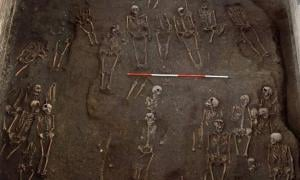Skeletons were discovered completely intact beneath the Old Divinity School at St John's College.